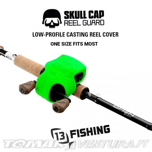 13 Fishing Skull Cap Reel Guard