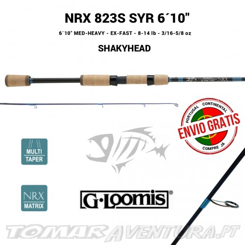 Cana Spinning NRX 832S SYR 6´10""