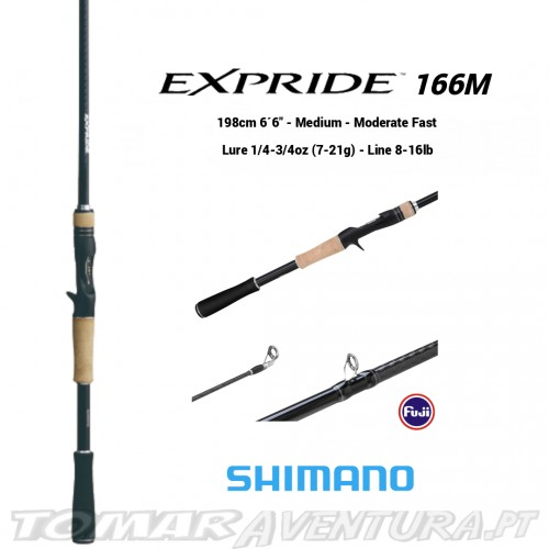Cana Spinning Shimano Expride 272MH
