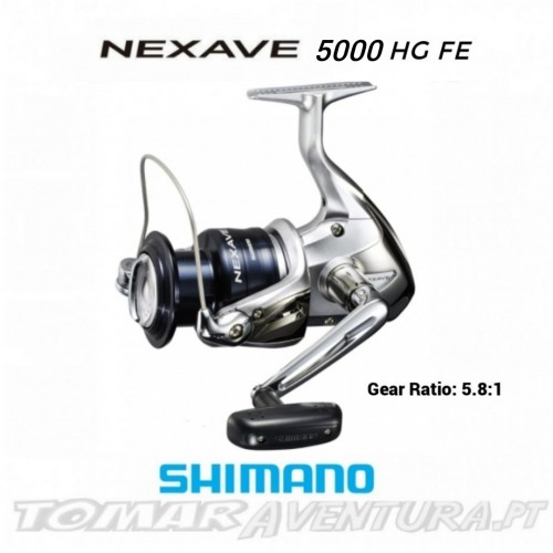 Shimano Nexave C5000 HG FE