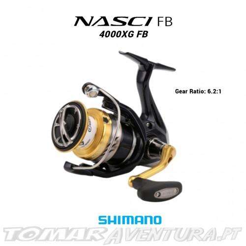 Carreto Shimano Nasci 4000 XG FB