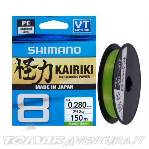 Shimano Kairiki Mantis Green 150m