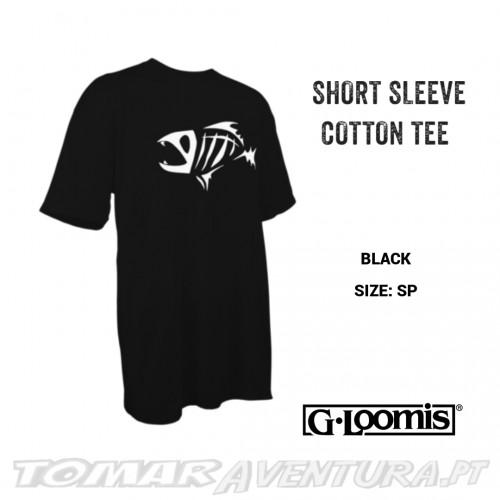 G-Loomis Short Sleeve T-Shirt Cotton Tee Black