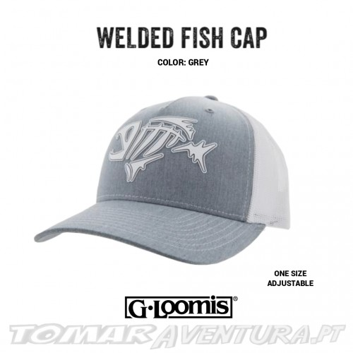 Chapeu G-Loomis Welded Fish Cap Gray