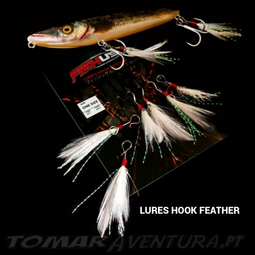 Fishus Lures Hook Feather