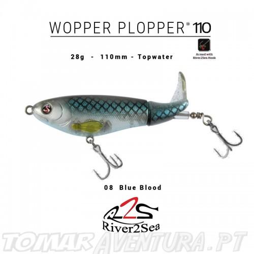Amostra River2Sea Whopper Plopper 110