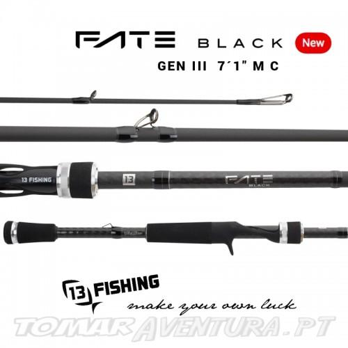 Cana 13 Fishing Fate Black Baitcasting 7´1´M