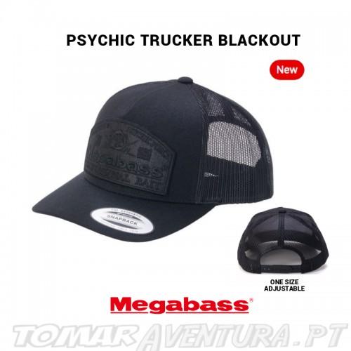 Chapeu Megabass Psychic Truker Blackout