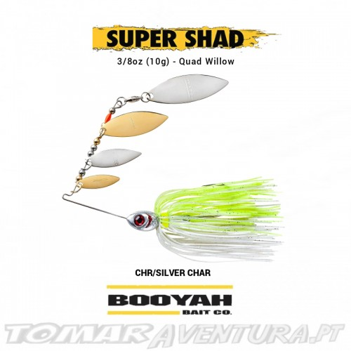 Spinnerbait Booyah Super Shad Triple Willow 3/8oz