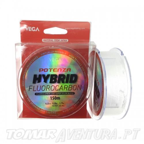 Linha Vega Potenza Hibrid Fluorocarbon 150m