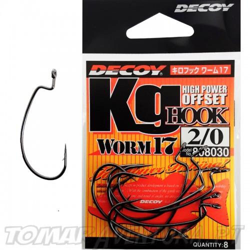 Decoy Worm 17 KG Hight Power Offset Hook