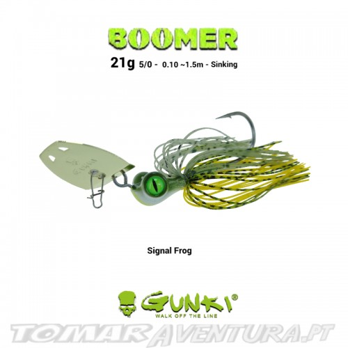 Chatterbait Gunki Boomer 21g