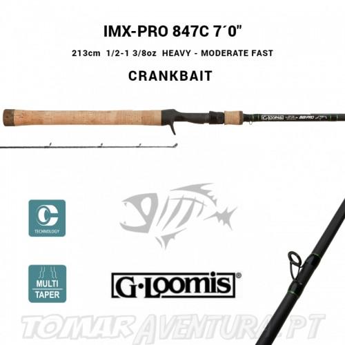 "Cana Baitcasting G-Loomis IMX-Pro 847C 7´0"" Crankbait"