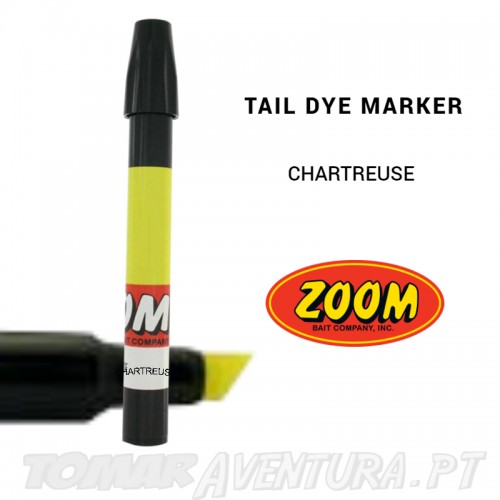 Zoom Tail Dye Marker Chartreuse