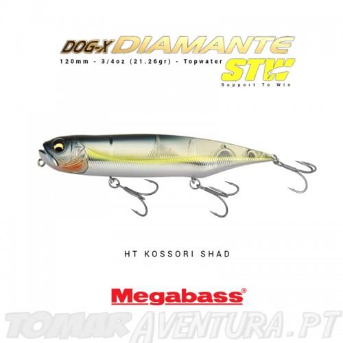 Megabass Dog X Diamante Rattle in