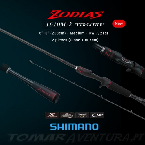 Cana Baitcasting Shimano Zodias 1610M-2