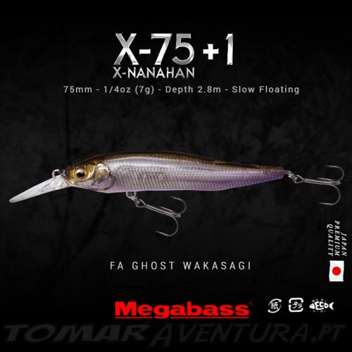 Megabass Manahan X-75 +1