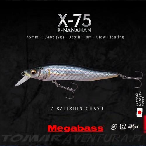 Megabass Nanahan X-75