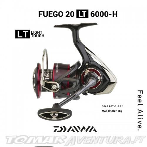 Carreto Spinning Daiwa Fuego LT 2020 6000-H