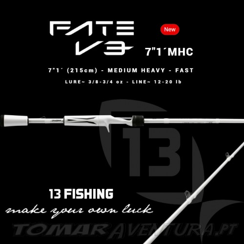 Cana Baitcasting 13 Fishing Fate V3 7´1 MHC
