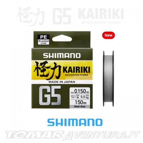 Shimano Kairiki G5 150m Steel Gray