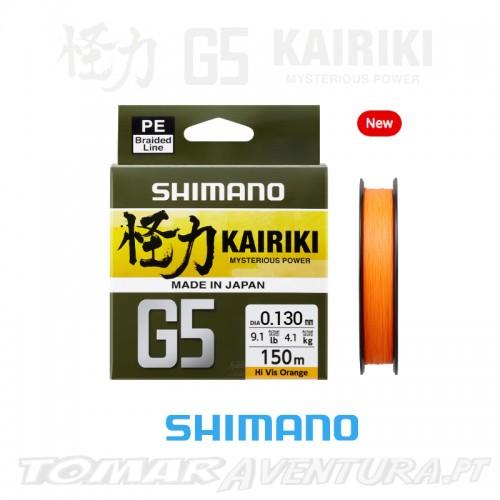 Shimano Kairiki G5 150m Hi Vis Orange