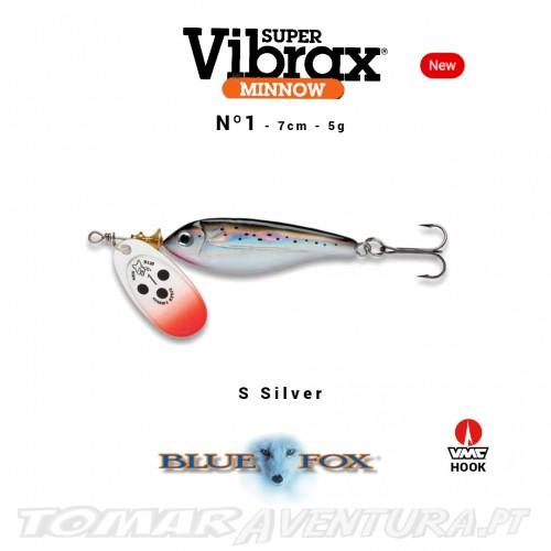 Amostra Blue Fox Vibrax Minnow 1