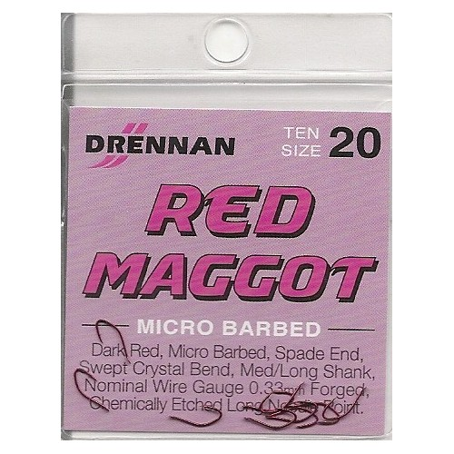 Anzois Drennan Red Maggot