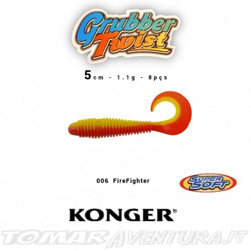 Konger Grubber Twist 5cm