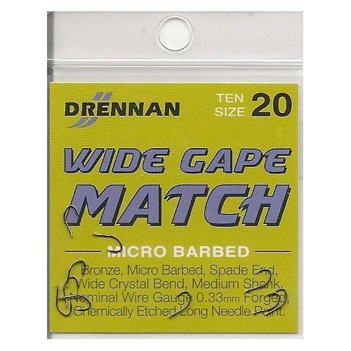 Anzois Drennan Wide Gape Match