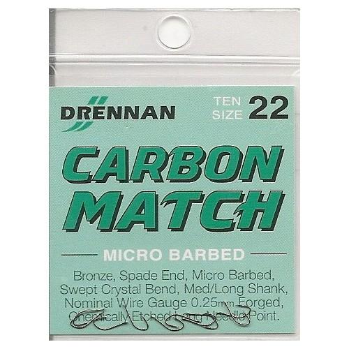 Anzois Drennan Carbon Match